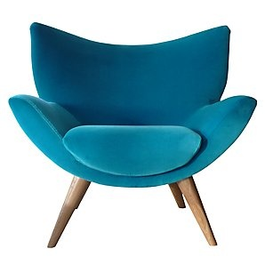 John lewise Bump chair blue