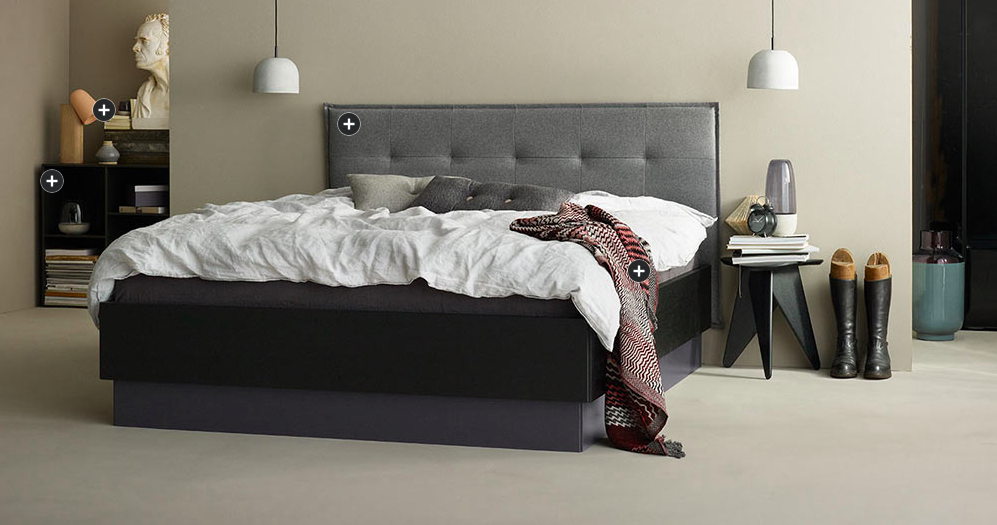 Bed with storage from Boconcept Furniture Vancouver