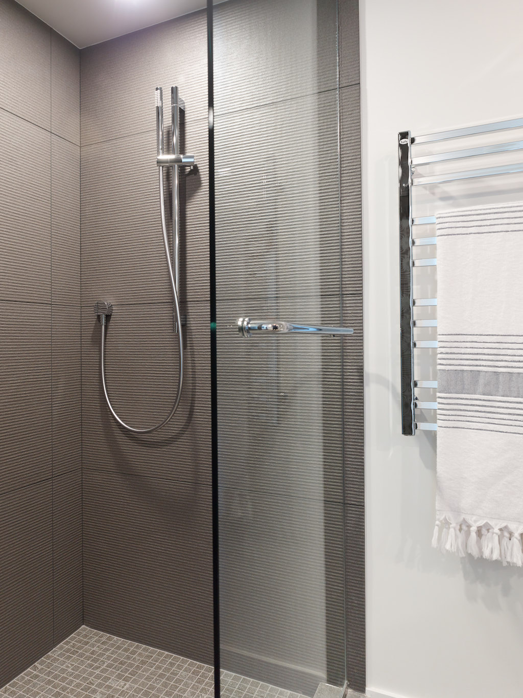 Custom Made shower renovation in Aquarius Mews, Vancouver