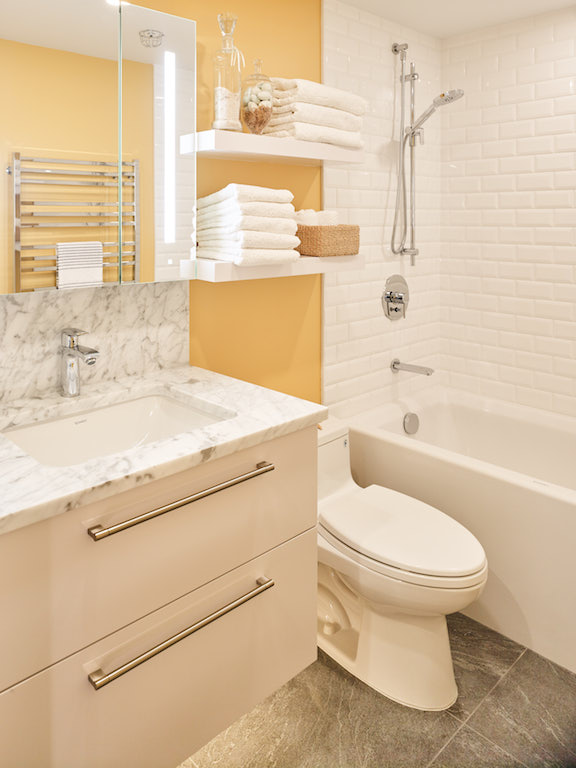kids Bathroom renovation in Aquarius Mews, Vancouver