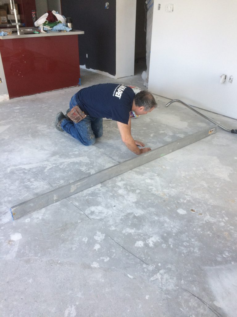 Laying the Foundation for a Hardwood Floor